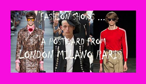 man fashion shows ss/ 16