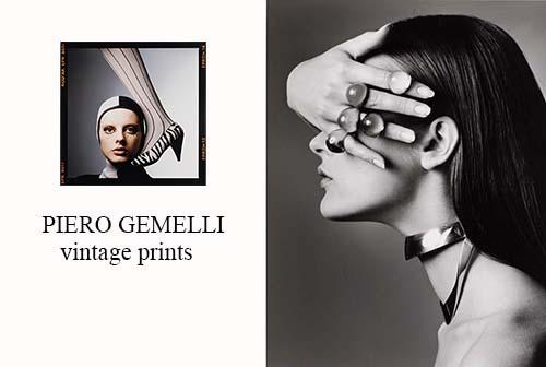 PIERO GEMELLI : Vintage Prints