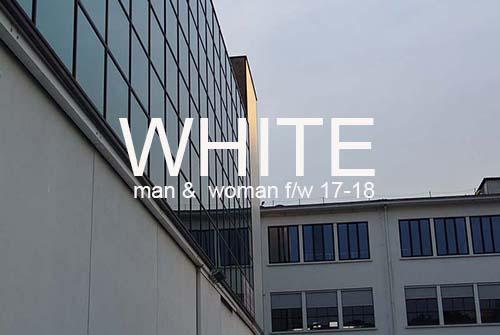 WHITE milano F/W 17-18