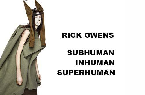 RICK OWENS in TRIENNALE