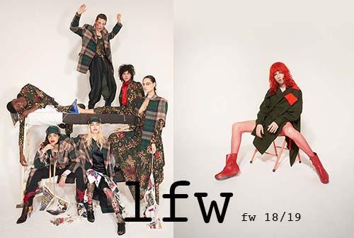 LONDON fashion week best look
