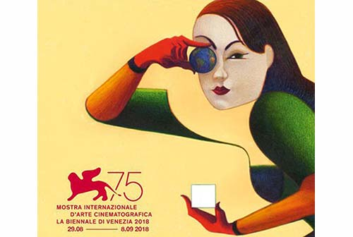 il CINEMA a VENEZIA 75
