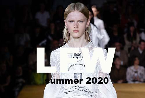 LONDON FW summer 2020