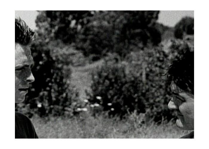Ra di Martino - Between, 2001.Still da video.