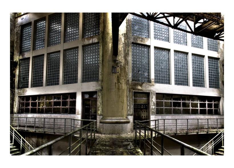 Impianto elettrochimico in Centro Italia entrato in attività all'inizio del '900 e dismesso all'inizio degli anni '70