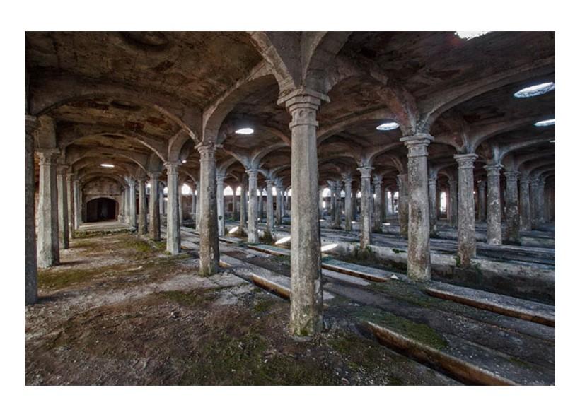 Raro esempio di cementificio della fine dell'800 nel Nord Italia
