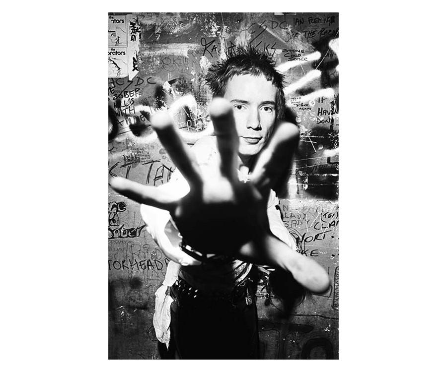 Dennis Morris, John Lydon, 1977