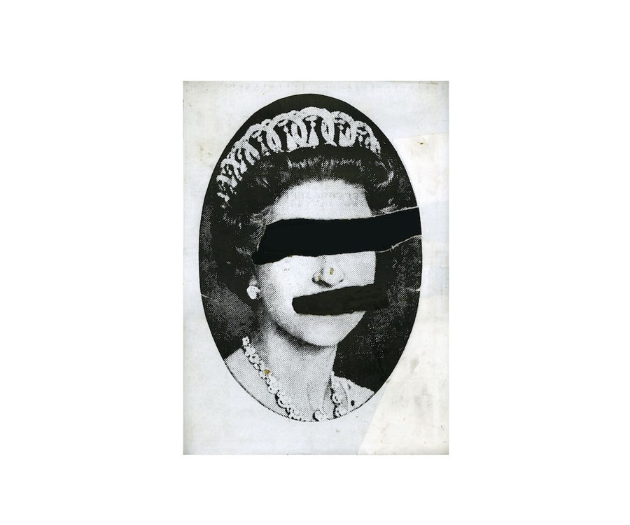 Jamie  Reid - Queen Collage 1977