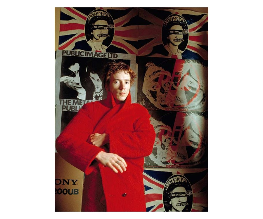 Sheila Rock, John Lydon in a Red Coat, 1978-79