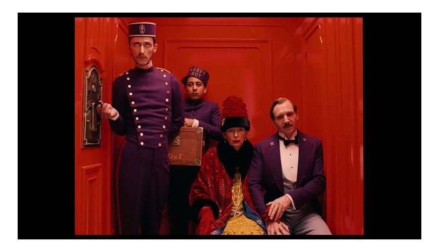 GRAN BUDAPEST HOTEL . WES ANDERSON . 2014