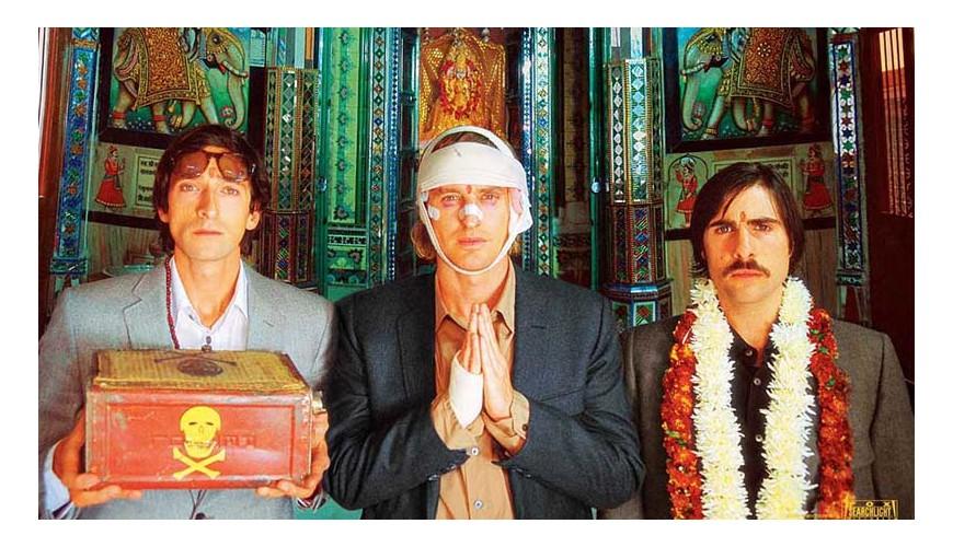 IL TRENO PER IL DAIJERLIING . WES ANDERSON . 2007