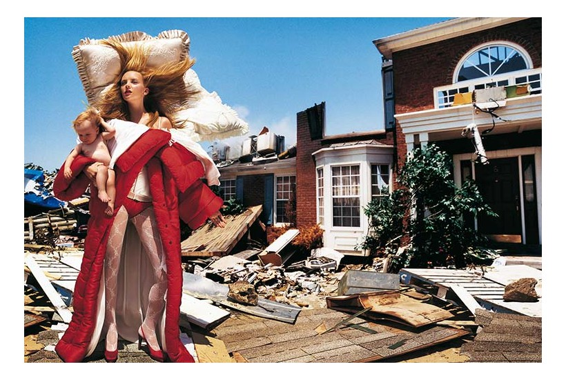 Photo by David LaChapelle, Vogue Italia October 2005