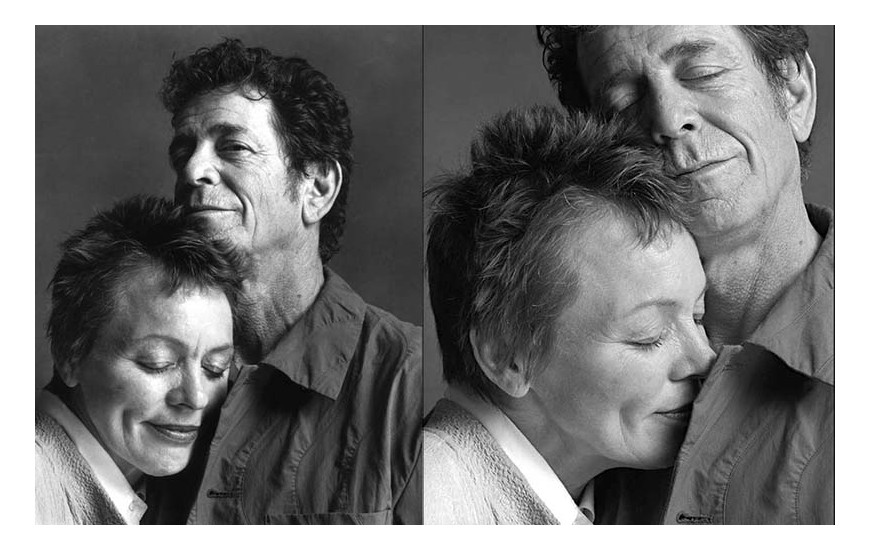 Laurie Anderson E Lou Reed by Guido Harari
