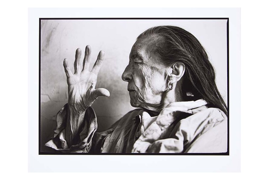 LOUISE BOURGEOIS, 1995 , Annie Leibovitz