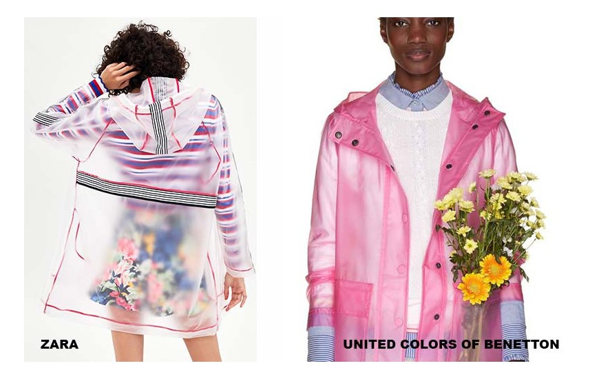 ZARA,  UNITED COLORS OF BENETTON