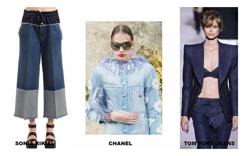SONIA RIKIEL, CHANEL, TOM FORD JEANS