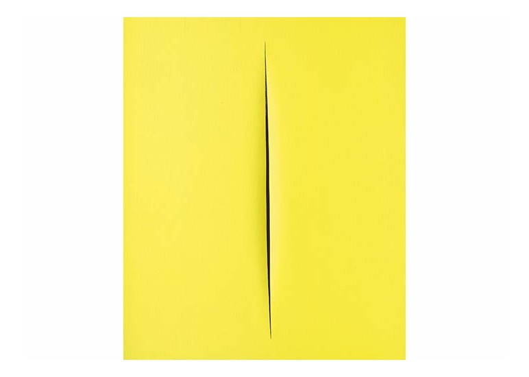 ESTABLISHED: MASTERS, MAZZOLENI, Lucio Fontana