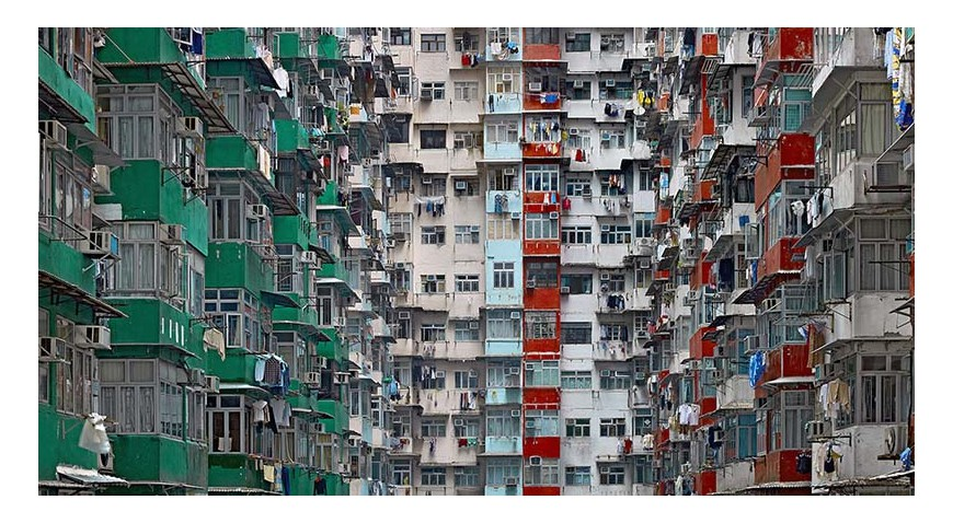 LIFE IN THE CITIES ARCHITECTURE OF DENSITY HONG KONG 2003 2014 MICHAEL WOLF