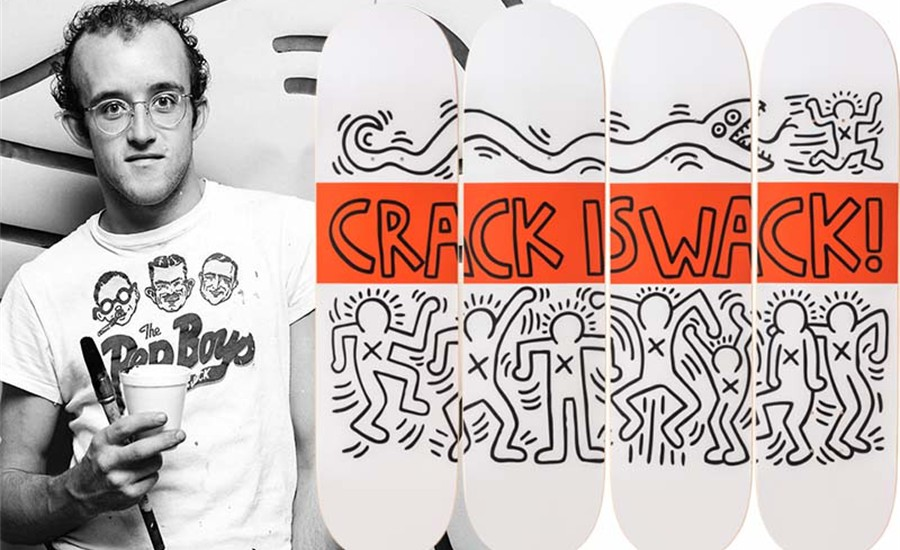 KEITH HARING: CRACK IS WACK