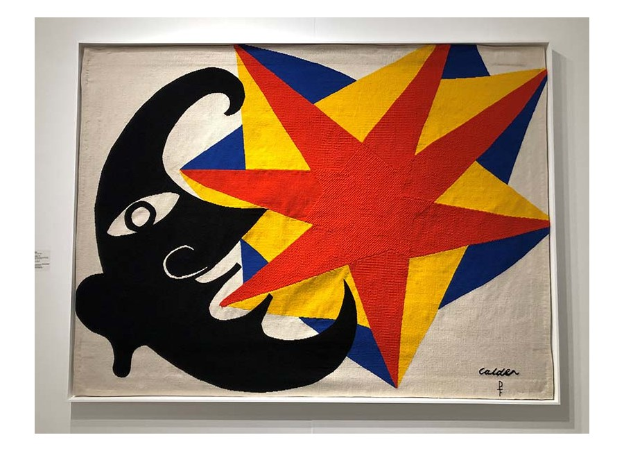 Alexander Calder, Moon and Star Tapestry, 1970.