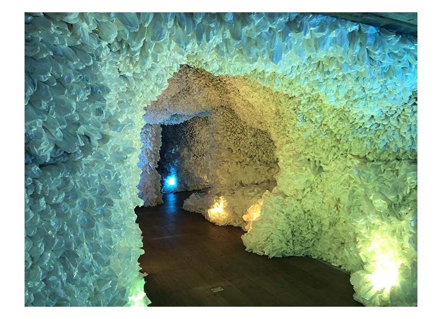Basia Goszczynska, Rainbow Cave, 2019.